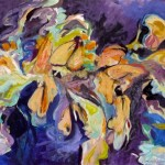 "A breeze upon the Wings, 2009 oil on canvas, 30"" x 36"""