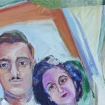 Detail of Ethel & Julius, The Couple-1947